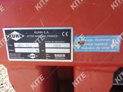 Kuhn MDS 932