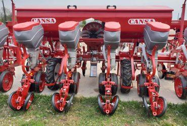 4, 6 és 8 soros Cansas kukorica / napraforgó tárcsás vetőgépek  műtrágya adagolóval