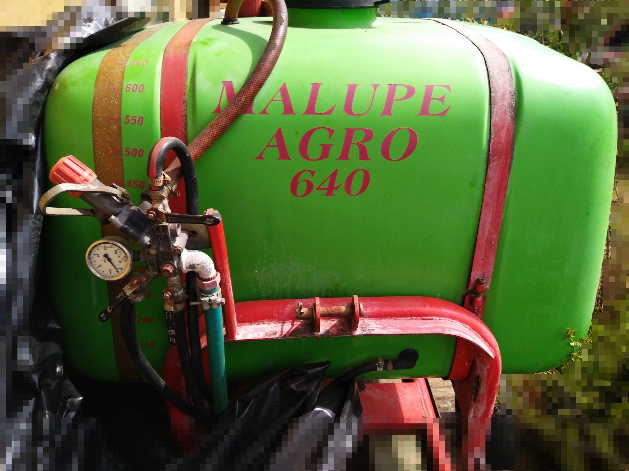 Malupe Agro 640 függesztett axiál permetező