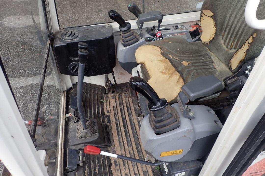 Mini kotrógép KUBOTA KX41-3V