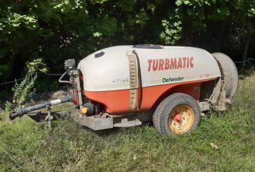 SEA Turbmatic Defender vontatott szőlő-gyümölcs permetezőgép